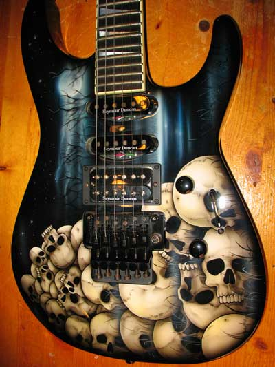 Jackson Soloist USA with Dan Lawrence Paint 2005 - SOLD