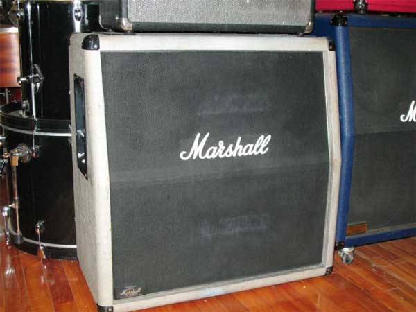Marshall Silver Jubilee 4x12 Cabinet - SOLD!