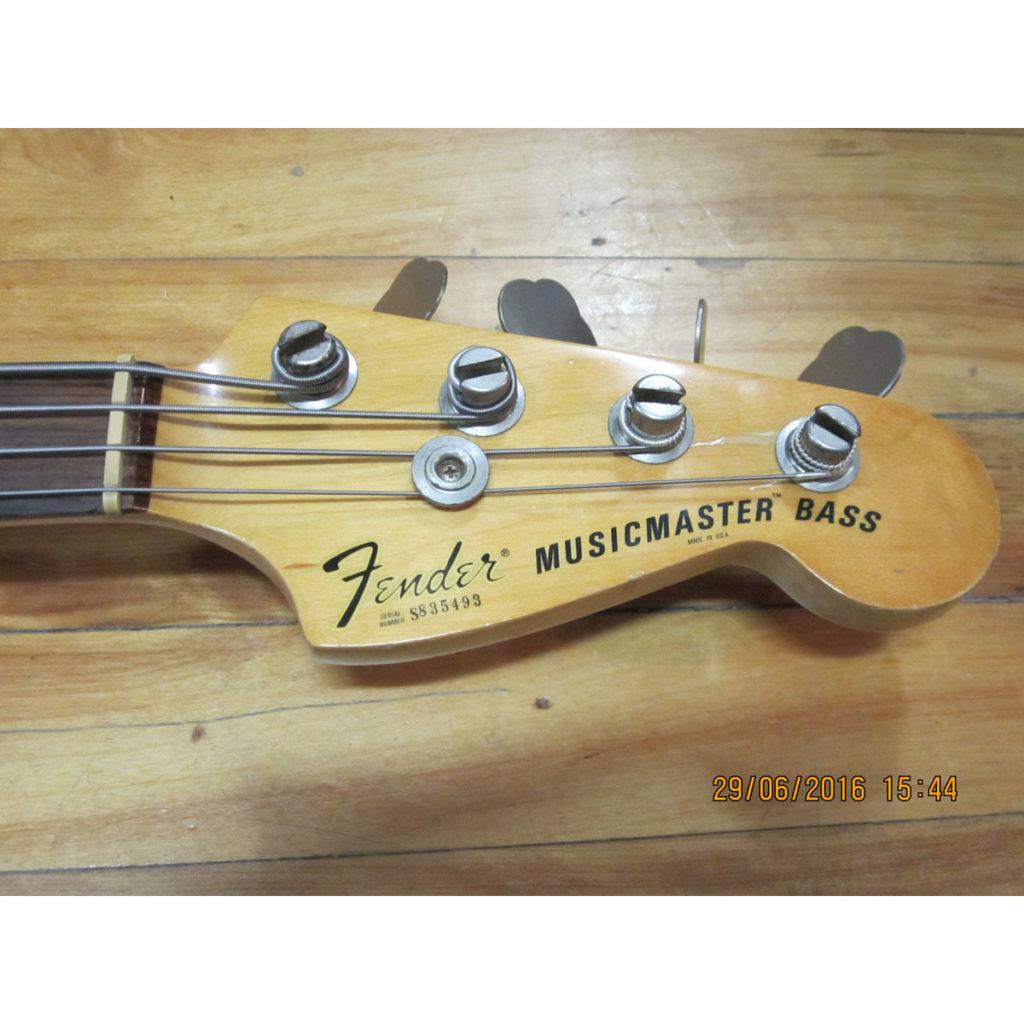 Fender Musicmaster Bass 1978