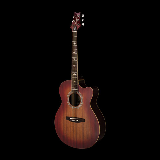 prs guitars se a10e acoustic electric cherry sunburst erie music