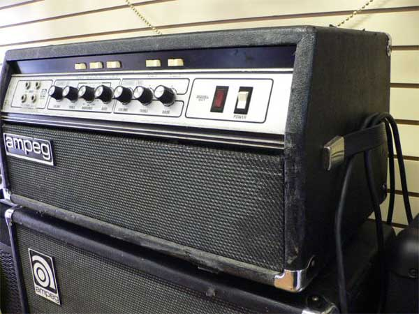 Ampeg SVT Bass Head & 810 Cab 1970s -SOLD