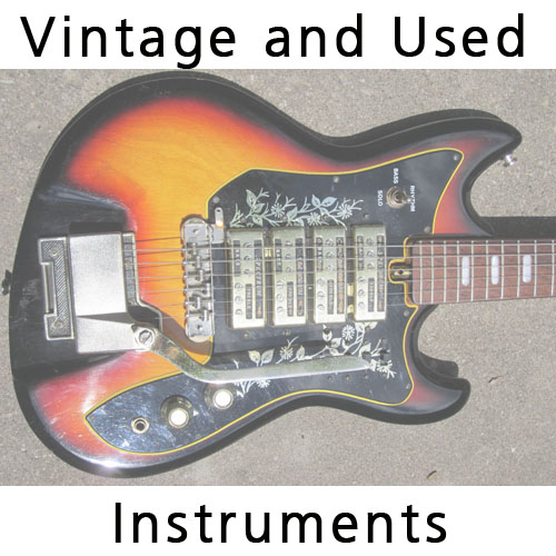 Vintage & Used Instruments