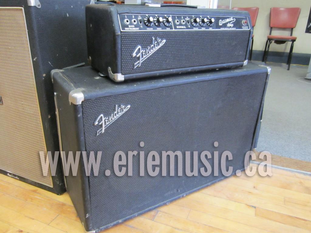 Fender Bassman Amplifier & Cabinet 1966 - SOLD
