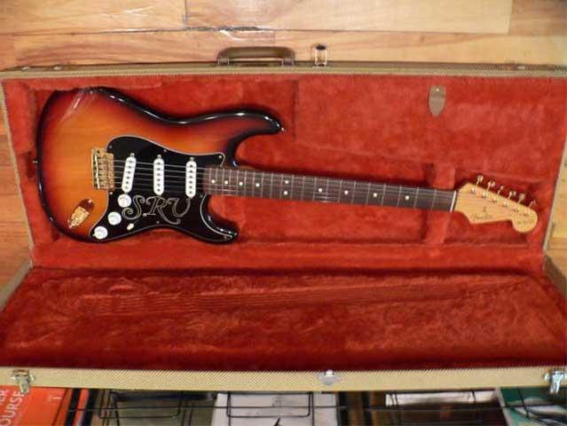 Fender Stevie Ray Vaughan Stratocaster - 1992 SOLD