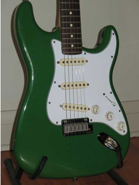 Fender Tanqueray Stratocaster 1988 - SOLD!