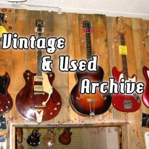 Cool Vintage Gear We've Sold